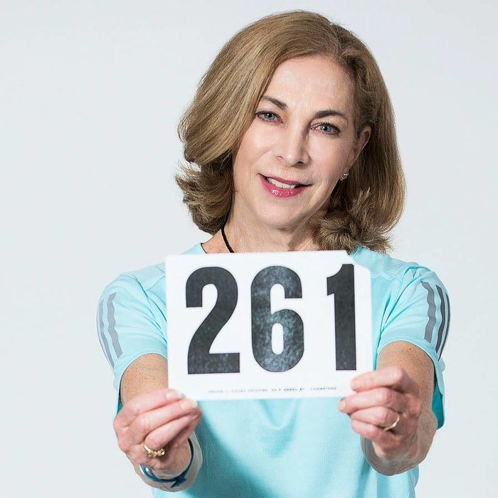 Φωτο: Kathrine Switzer Marathon Woman Facebook page