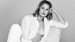 Η 73χρονη Λ. Χάτον, το νέο πρόσωπο της καμπάνιας του Calvin Klein