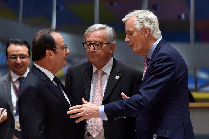 Συμφώνησαν οι «27» στην κοινή γραμμή της διαπραγμάτευσης για το Brexit
