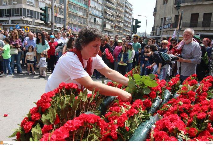 Από την Πρωτομαγιά των λουλουδιών στην Πρωτομαγιά των εργατών