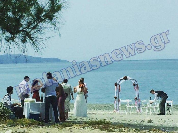 Στο Μάλεμε Χανίων δύο γυναίκες ενώθηκαν με τα δεσμά του γάμου
