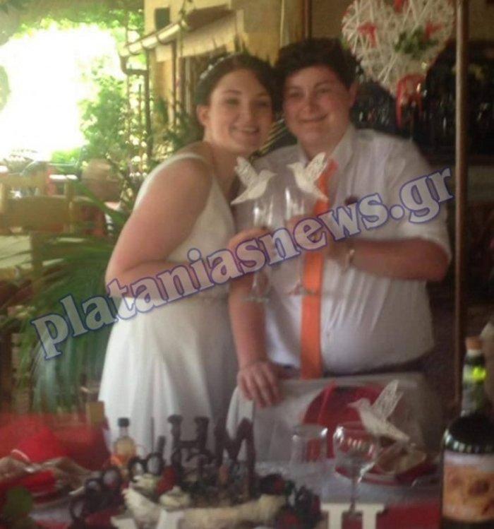 Στο Μάλεμε Χανίων δύο γυναίκες ενώθηκαν με τα δεσμά του γάμου - εικόνα 2