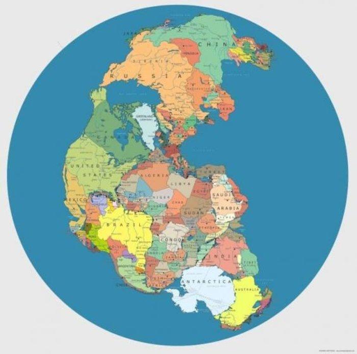 Πώς ήταν ο κόσμος πριν από 30 εκατομμύρια χρόνια- Δείτε τον χάρτη