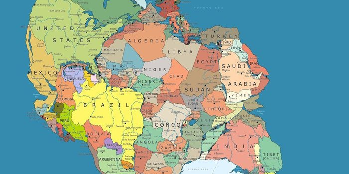Πώς ήταν ο κόσμος πριν από 30 εκατομμύρια χρόνια- Δείτε τον χάρτη - εικόνα 2
