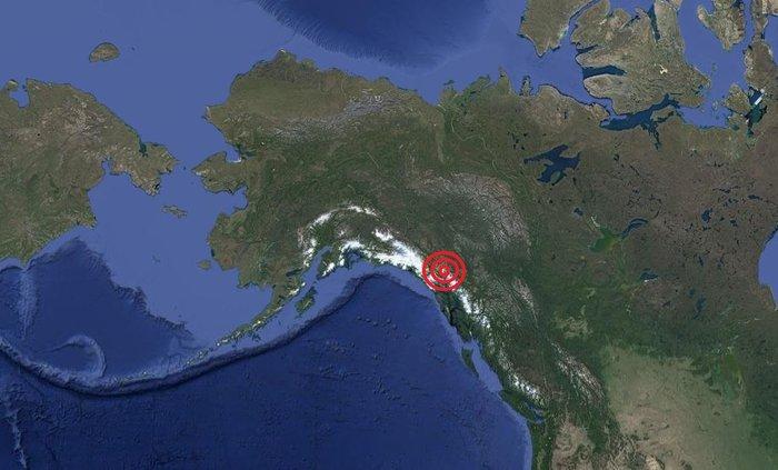 Ισχυρός σεισμός 6,5 Ρίχτερ στην Αλάσκα κοντά στα σύνορα με τον Καναδά