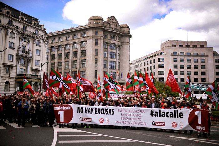 Ισπανία: Πορείες κατά της εργασιακής ανασφάλειας και της διαφθοράς