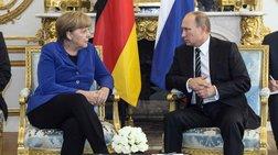 Επίσκεψη Μέρκελ στη Ρωσία και συνάντηση με Πούτιν