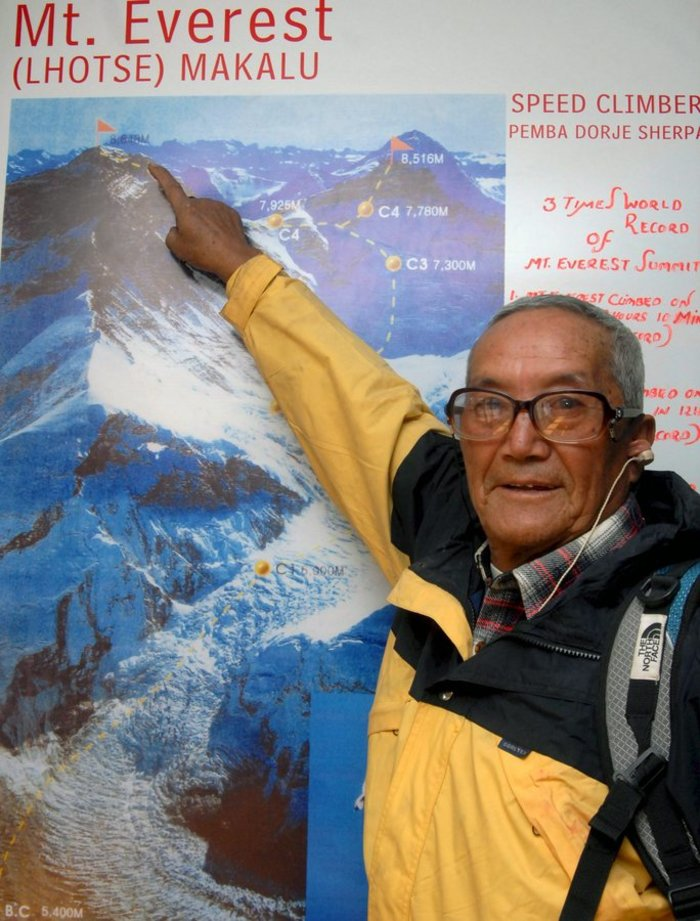 86χρονος ορειβάτης άφησε την τελευταία του πνοή στο Εβερεστ - εικόνα 2