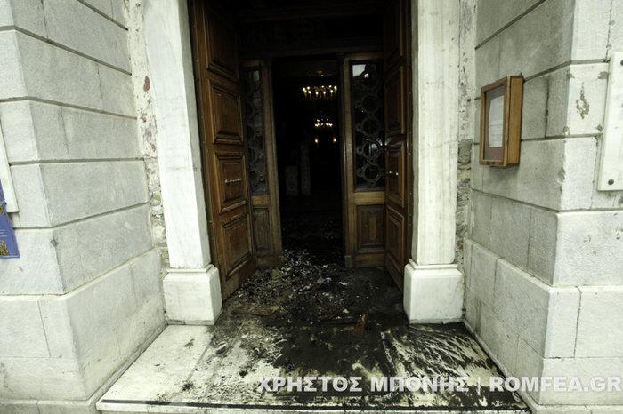 Πυρκαγιά στον ιστορικό ναό του Αγίου Δημητρίου στου Ψυρρή - εικόνα 2