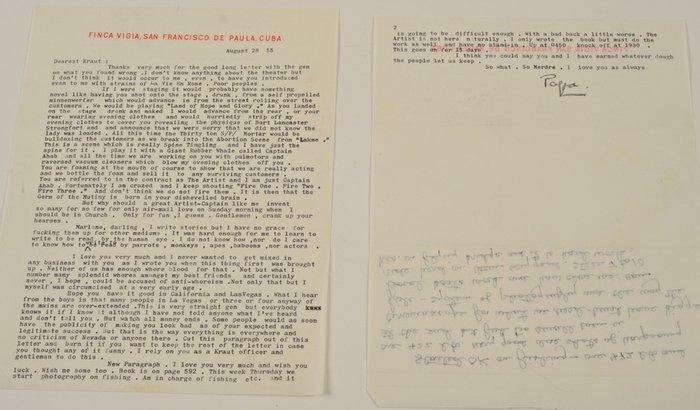 Τιμή ρεκόρ για ερωτικές επιστολές του Χέμινγουέϊ στην Μάρλεν Ντίτριχ - εικόνα 2
