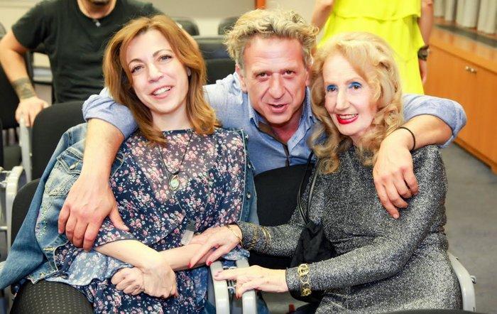 Δήμητρα Παπαδοπούλου, Κώστας Κόκλας, Μαρία Ψαθά