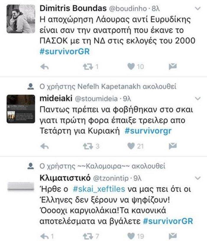 Στημένη η ψηφοφορία; Εμπάργκο στο Survivor από αγανακτισμένους τηλεθεατές - εικόνα 16