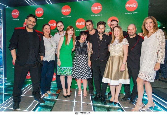 Η ομάδα Marketing της Coca-Cola Hellas μαζί με τους ONIRAMA