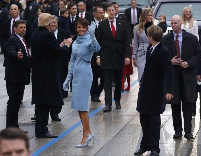 Η Κέιτ Μίντλετον με ντύσιμο αλά Μελάνια Τραμπ στην ορκωμοσία [Εικόνες]