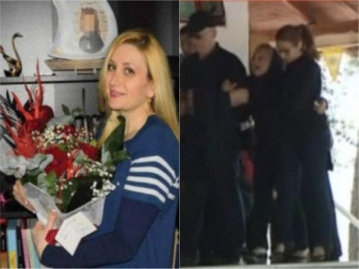 Θρήνος στην κηδεία της 36χρονης που δολοφονήθηκε στη Θεσσαλονίκη - εικόνα 3