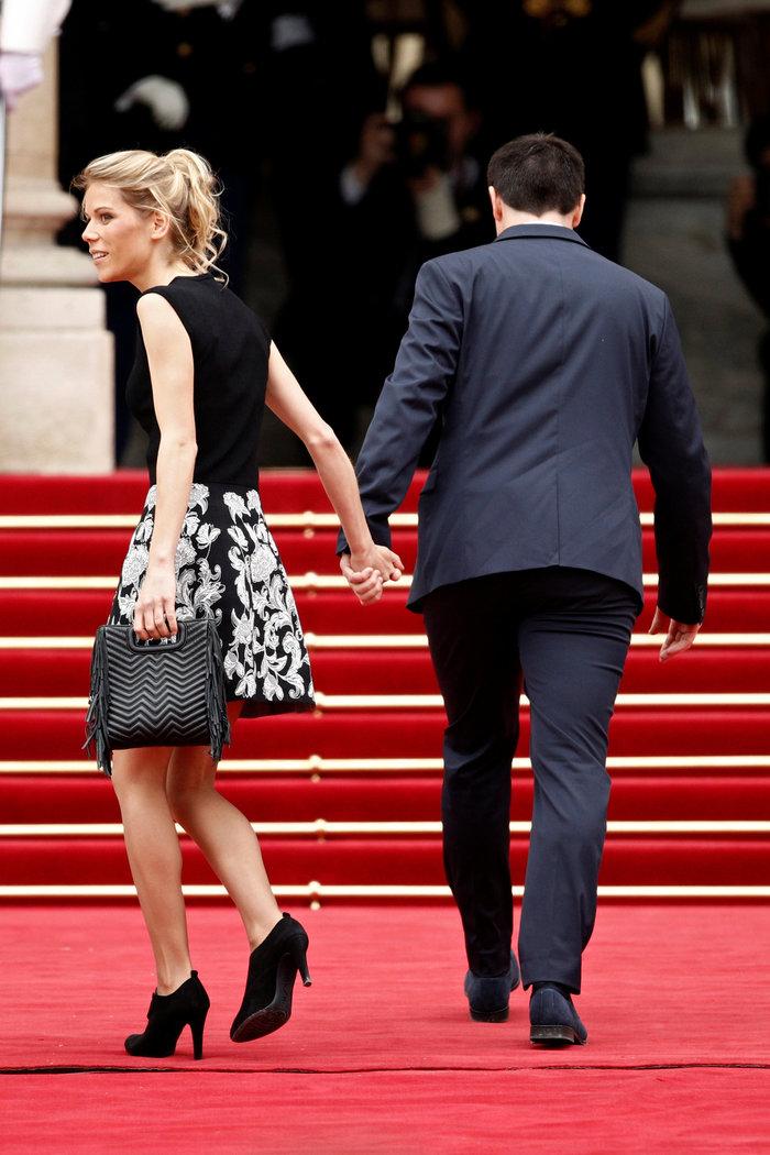 Η Τιφέν Οζιέ με τον σύντροφό της