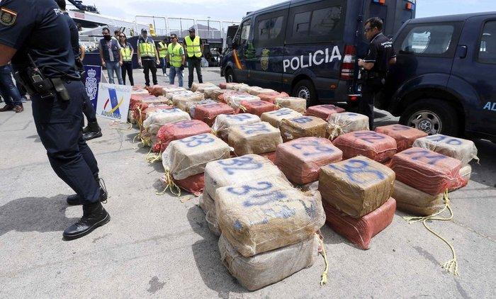 'Επιασαν το μεγαλύτερο φορτίο κοκαΐνης στην ιστορία -φωτό - εικόνα 2