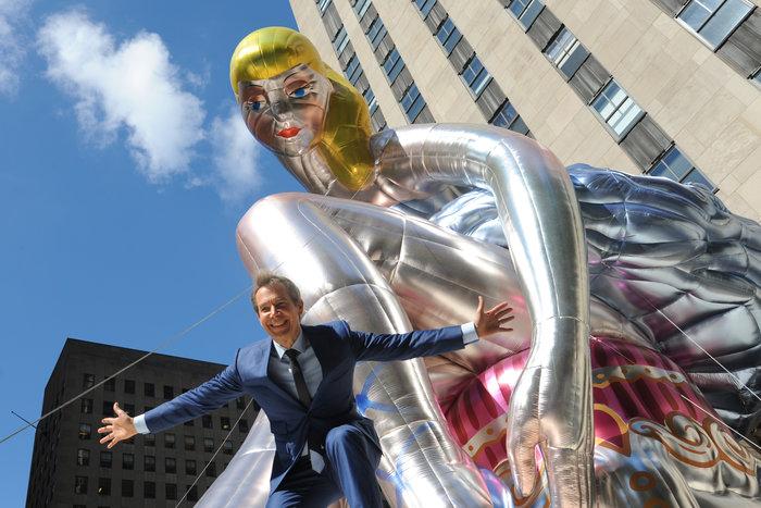 Μια καθιστή μπαλαρίνα κλέβει τα βλέμματα στην καρδιά της Νέας Υόρκης - εικόνα 4
