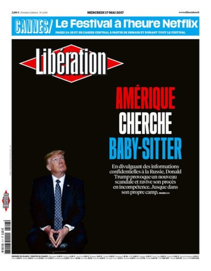 Liberation: Η Αμερική ψάχνει baby-sitter για τον Τραμπ