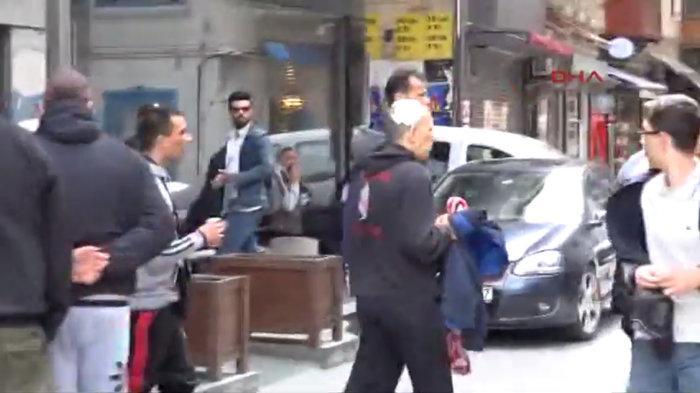 Επεισόδια στην πλατεία Ταξίμ με τραυματίες έλληνες φιλάθλους (ΒΙΝΤΕΟ)