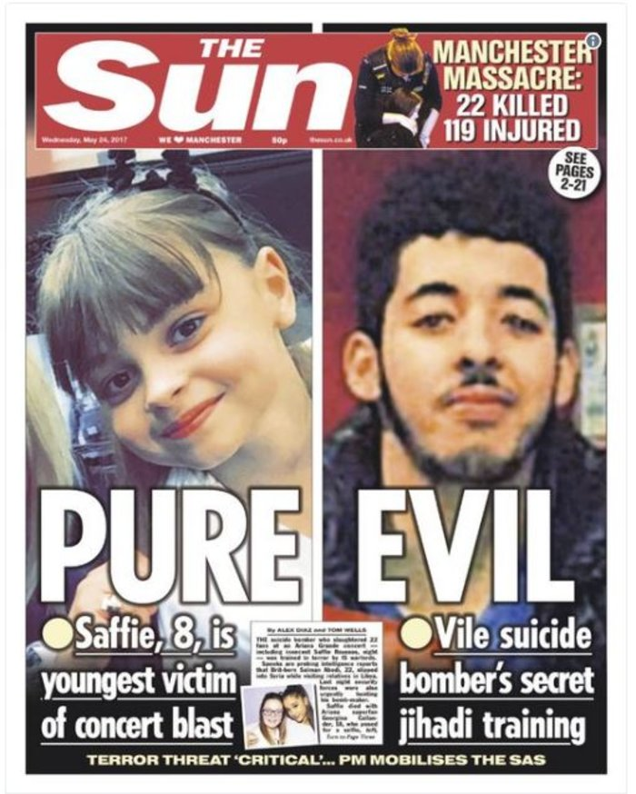Τα βρετανικά πρωτοσέλιδα: Οι τρομοκράτες «έκλεψαν» τις ζωές παιδιών - εικόνα 7