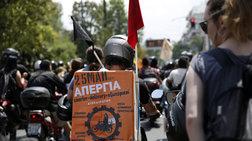 """Μοτοπορεία από τους διανομείς - """"Πλημμύρισαν"""" την Αθήνα"""