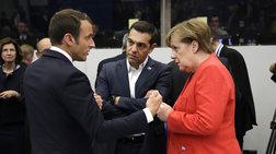 tsipras-merkel-kai-makron-milisan-gia-tin-apomeiwsi-tou-xreous