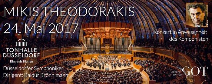 Συγκλόνισε η συναυλία του Μ. Θεοδωράκη στο Ντίσελντορφ