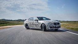 Η νέα BMW M5 με M xDrive είναι τρισυπόστατη και σχεδόν θεϊκή!