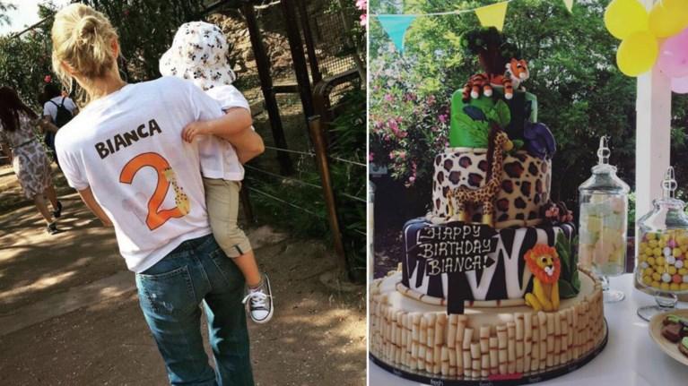 Η τούρτα - υπερπαραγωγή για τα γενέθλια της κόρης της