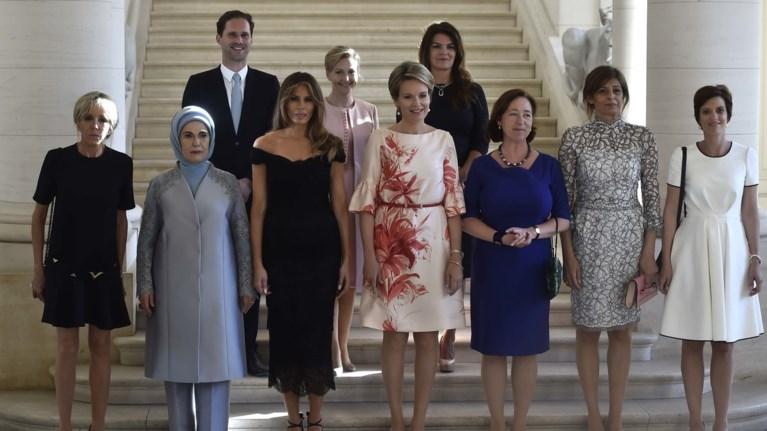 Για πρώτη φορά: Ενας Πρώτος Κύριος ανάμεσα στις Πρώτες Κυρίες