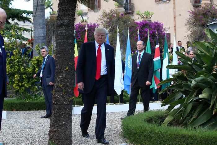 «Το χρήμα άρχισε να εισρέει»: το tweet Τραμπ από το G7