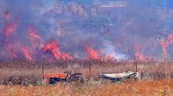 Πυρκαγιά ξέσπασε στην Αργολίδα - απειλήθηκαν κατοικίες [Βίντεο]
