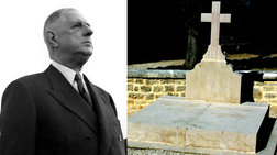 Βεβήλωσαν τον τάφο του Ντε Γκολ στη Γαλλία