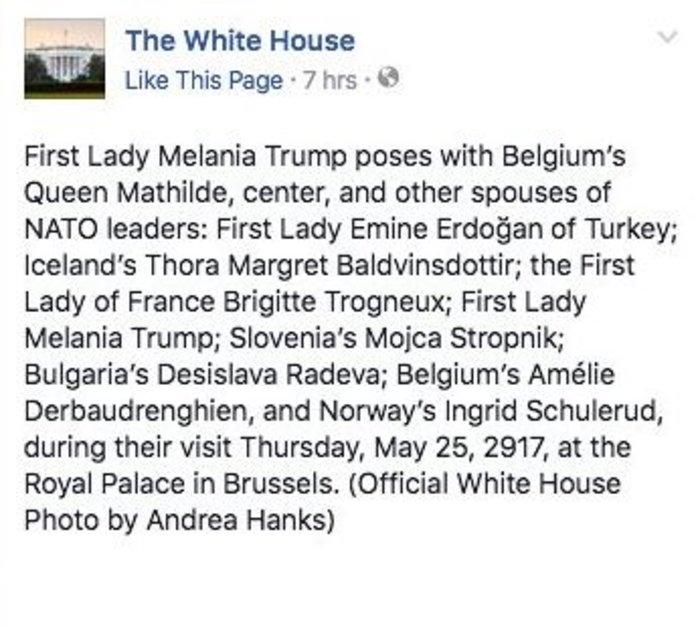 Η λογοκρισία του Λευκού Οίκου στον Πρώτο Κύριο στη φωτό με τη Μελάνια - εικόνα 2