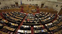 Σύσσωμος ο πολιτικός κόσμος αποχαιρετά τον Κ. Μητσοτάκη