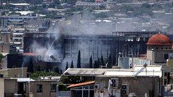 Φωτιά σε νυχτερινό κέντρο δίπλα από τον 9.84 στο Γκάζι
