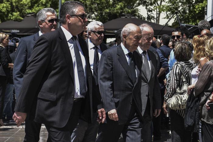 Παρών και ο πρώην πρωθυπουργός Κώστας Σημίτης