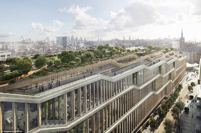 Τα νέα γραφεία της Google στο Λονδίνο θα είναι βγαλμένα από το μέλλον