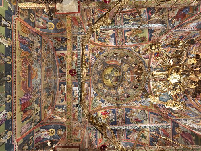 Γενική άποψη οροφής του Καθολικού (Μονή Αγίου Στεφάνου Μετεώρων)