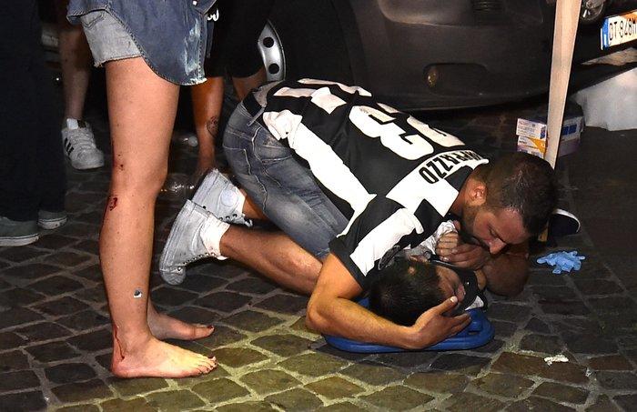 Παρ' ολίγον τραγωδία στην Ιταλία: 1.400 τραυματίες στο Τορίνο - εικόνα 8