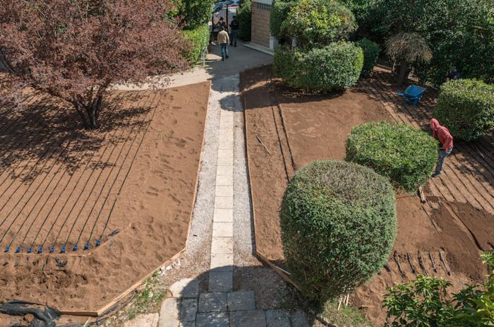 Η μεταμόρφωση του Αστεροσκοπείου σε έναν κατάφυτο κήπο - εικόνα 7