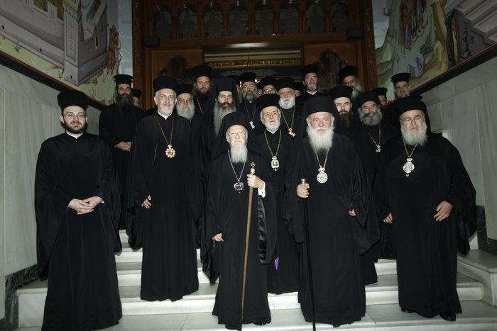 Συνάντηση Ιερώνυμου με τον Οικουμενικό Πατριάρχη Βαρθολομαίο - εικόνα 2