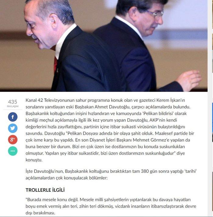 «Βολές» Νταβούτογλου σε Ερντογάν μετά από 380 μέρες σιωπής - εικόνα 2