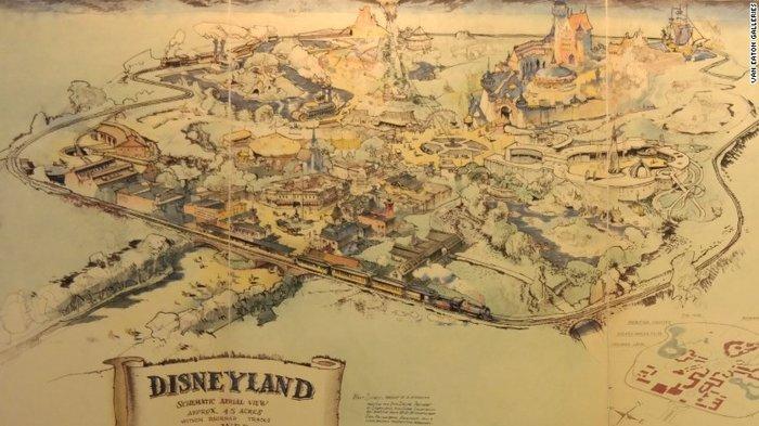 Πως χτίστηκε η Ντίσνεϊλαντ: Η ιστορία πίσω από ένα χάρτη - εικόνα 2