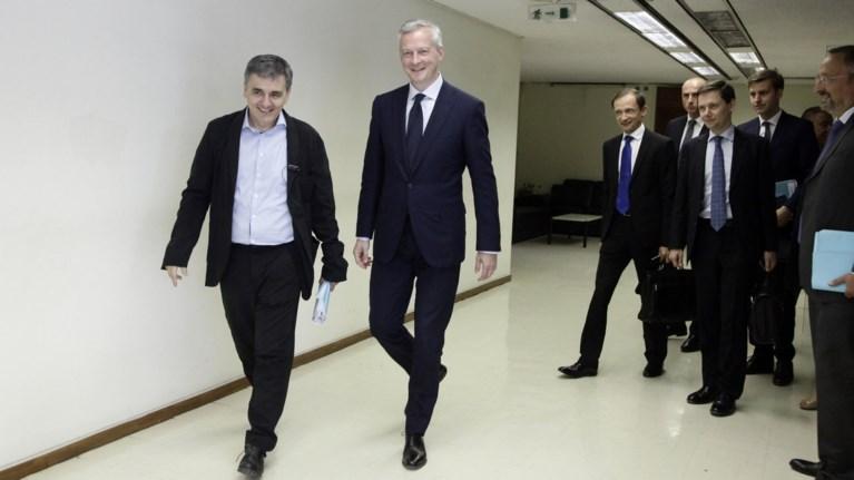 Η γαλλική πρόταση για το χρέος: Τι συζήτησαν Λεμέρ-Τσακαλώτος