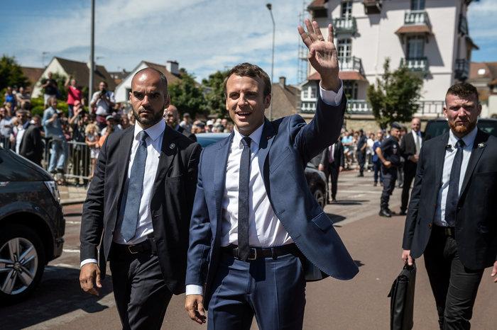 Exit poll: 32% στο κόμμα του Μακρόν, 18% η Λεπέν-Ρεκόρ αποχής - εικόνα 4