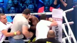Θεατές χτύπησαν γνωστό αθλητή Kick-Boxing μετά τη νίκη του