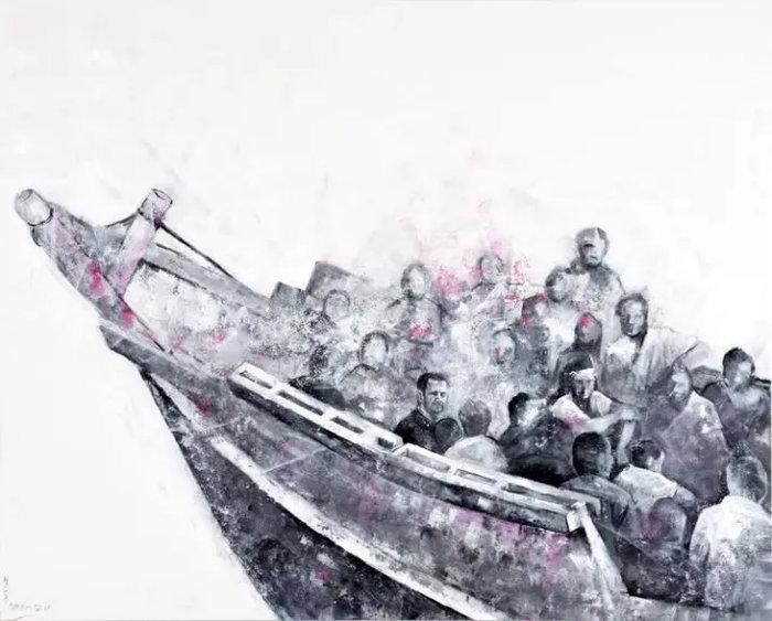 Ο σύριος καλλιτέχνης που μεταμόρφωσε τους πολιτικούς ηγέτες σε πρόσφυγες - εικόνα 4
