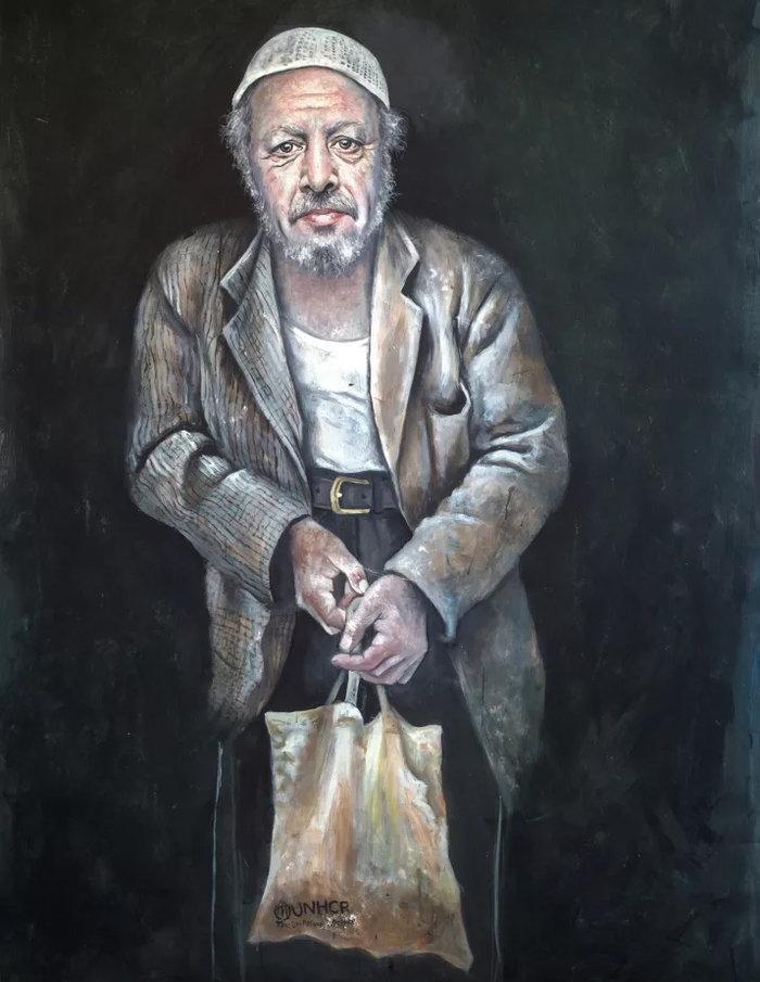 Ο σύριος καλλιτέχνης που μεταμόρφωσε τους πολιτικούς ηγέτες σε πρόσφυγες - εικόνα 6
